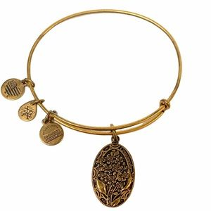 Alex and Ani Gold Grandmother Wisdom Legacy Love